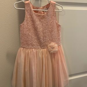 Girls Size 5t Blush Dress